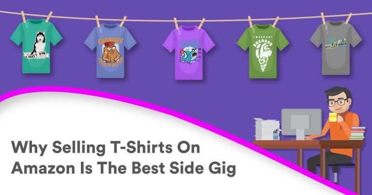 743f9a0d0 You're probably wondering how you can make some extra cash on the side. Who  isn't, right? You can start by selling t-shirts on Amazon.