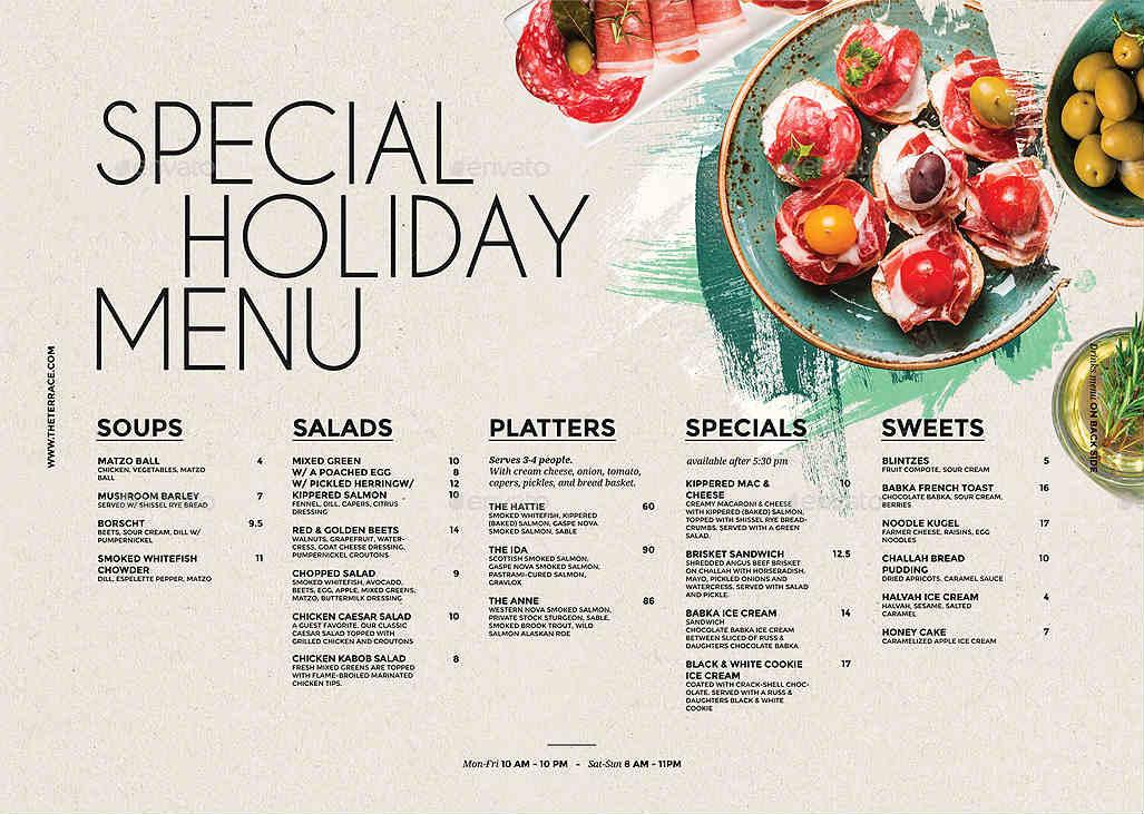 Restaurant Menu Design Tips That Will Boost Sales Unlimited Graphic Design Service