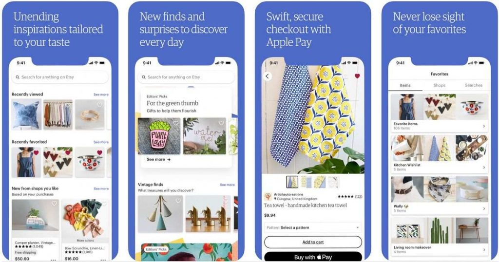 app per lo shopping online