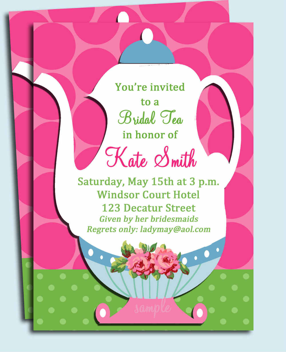 Bridal Shower Invitations Wording Ideas