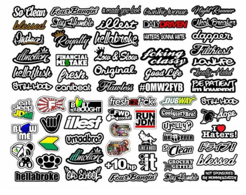 sticker ideas for bikes