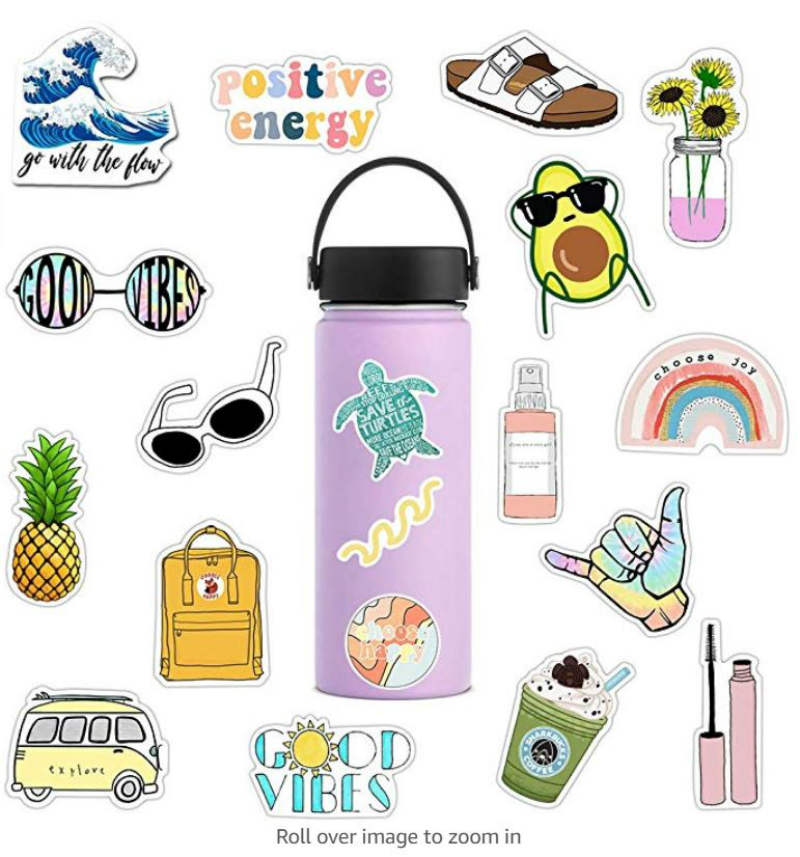sticker ideas for water bottles