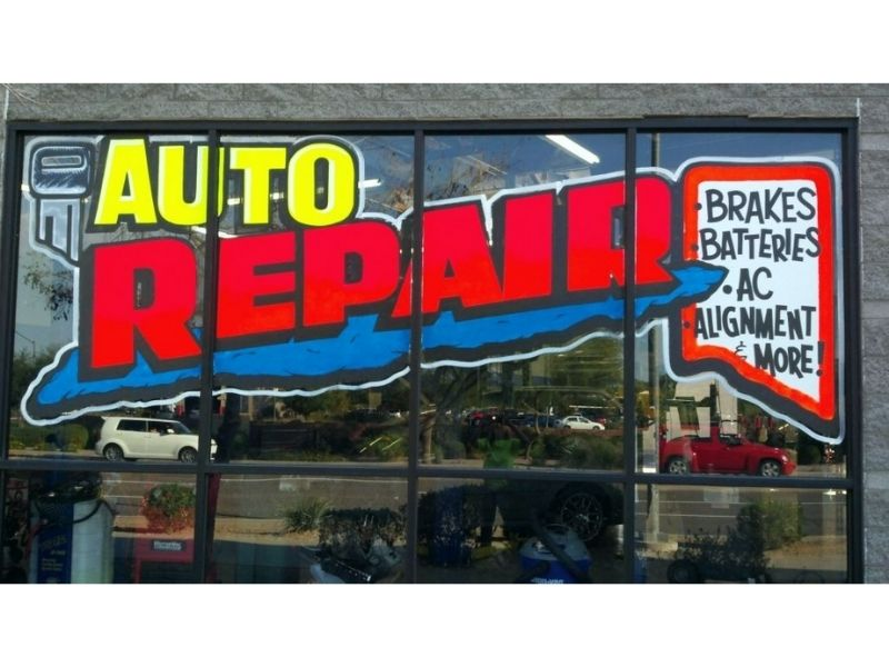 store outdoor sign